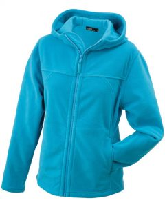 Damen Fleece-Kapuzenjacke