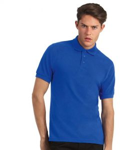 Herren Polo-Shirt Safran