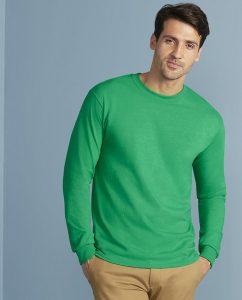 Herren Tshirt Longsleeve Ultra Cotton